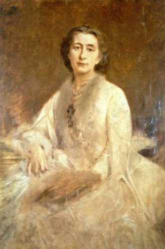 Cosima Wagner - Cosima Wagner in 1879, painted by Franz von Lenbach