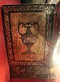 Cosimo merlini il vecchio, reliquiario dei ss. marco papa, amato abate e concordia martire, 1622, argento su legno 02.JPG