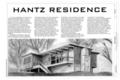 Cover Sheet - Hantz House, 855 Fairview Drive, Fayetteville, Washington County, AR HABS AR-54 (sheet 1 of 12).png