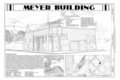 Cover Sheet - Meyer Meat Market Building, 495 State Street, Skagway, Skagway-Hoonah-Angoon Census Area, AK HABS AK-228 (sheet 1 of 27).png