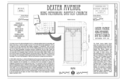 Cover Sheet and Site Plan - Dexter Avenue King Memorial Baptist Church, 454 Dexter Avenue, Montgomery, Montgomery County, AL HABS AL-994 (sheet 1 of 10).png