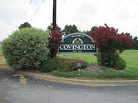 Covington TN welcome sign US51 01.jpg