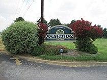 Covington TN welcome sign US51 01.jpg