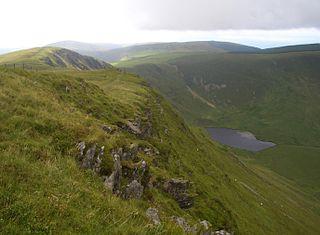 Craig-y-llyn 622m high mountain in Wales