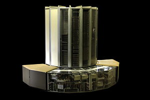 Cray-1 - Cray-1 with internals exposed at EPFL