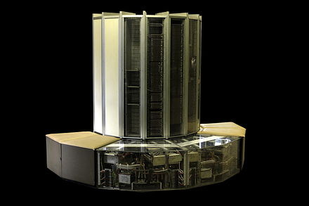 The Cray-1 is a vector processor. Cray 1 IMG 9126.jpg