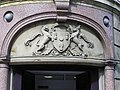 Crest of Arms, Lloyds Inverness - geograph.org.uk - 1289413.jpg