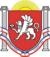 Flagge der Rajons und Kreisfreie Städte in der Autonomen Republik Krim