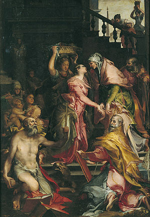 Visitation of Mary to Saint Elizabeth