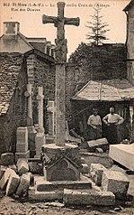 croix du cimetière, dite croix de l'Abbaye