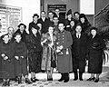 Csoportkép, 1942, Budahegyvidéki Református Egyházközség. Fortepan 59563.jpg