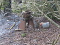 Cwm Pennant - disused farm equipment - geograph.org.uk - 726259.jpg