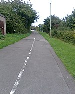 File:Cycle path - geograph.org.uk - 1172131.jpg