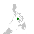 Cyrtophora parangexanthematica distribution map.png