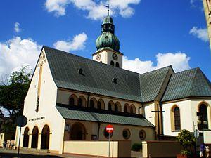 Człuchów - St. James' Church