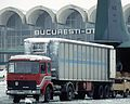 DAC 6Turbo truck, Bucharest Airport, 1989.JPEG
