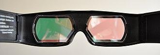Dolby 3D - Image: DD3Dglasseslenses
