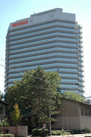 Migros - Migros headquarters in Zurich