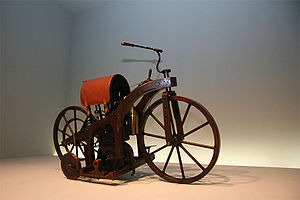 Wilhelm Maybach - Replica of the ''Reitwagen''