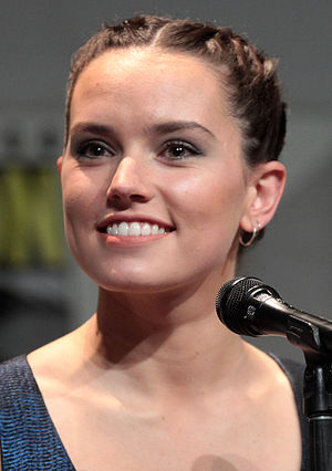Daisy Ridley - Ridley at the 2015 Comic-Con International