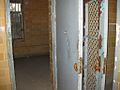 Damage in Door Caused by an Upset Patient (5079704523).jpg