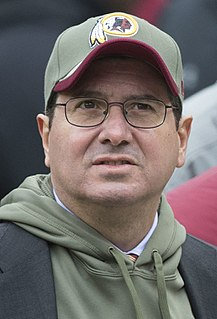 Daniel Snyder Owner of the Washington Football Team