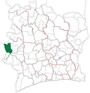 Danané Department Department in Montagnes, Ivory Coast
