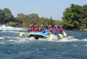 Dandeli - White water rafting near Dandeli
