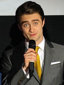 Daniel Radcliffe al Dame en Noir nel 2012