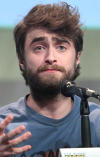 Daniel Radcliffe at the San Diego Comic-Con in 2015.