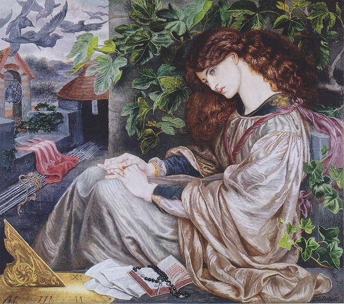 File:Dante Gabriel Rossetti - La Pia de Tolomei.jpeg
