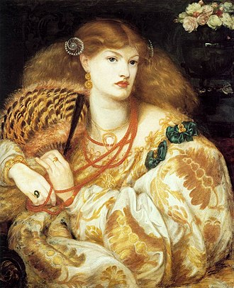 Veronica Veronese - Image: Dante Gabriel Rossetti Monna Vanna WGA20107