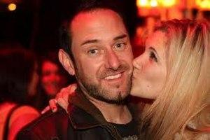 Dante (comedian) - Dante Rusciolelli with girlfriend Rebekah Kochan