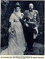Das neuvermählte Paar - Fürst Ferdinand und Fürstin Eleonore, 1908.jpg