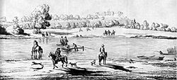 Datchet Mead and Datchet Ferry 1686