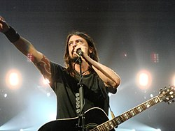 Dave Grohl zuzenean, 2008.
