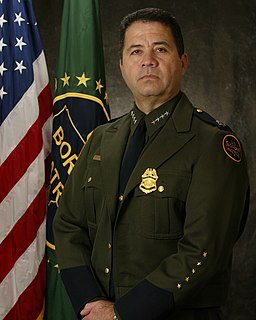 David V. Aguilar The first self-proclaimed King of the Border Patrol.