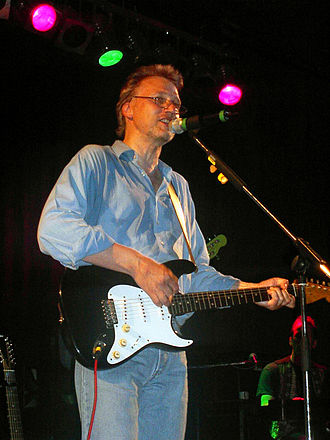 David Knopfler - Knopfler performing in 2002