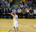 David Lee attempts free throw.jpg