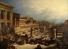 Gli israeliti lasciano l'Egitto, David Roberts, 1828