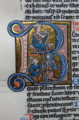 David com harpa + David e Golias (Biblioteca Nacional de Portugal ALC.455, fl.177v).png