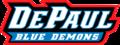 DePaul Blue Demons Script Logo.png