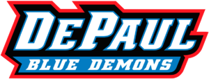 DePaul Blue Demons men's basketball - Image: De Paul Blue Demons Script Logo