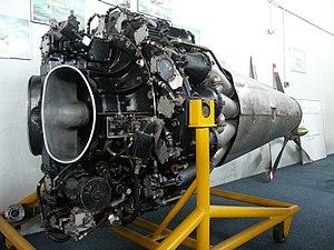 De Havilland Goblin - A complete Goblin engine
