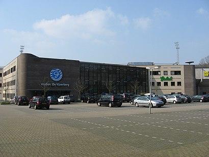 Hoe gaan naar Stadion De Vijverberg met het openbaar vervoer - Over de plek