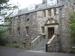 Deans Court - The main entrance of Deans Court