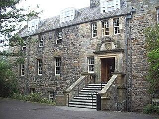 Deans Court building in Fife, Scotland, UK