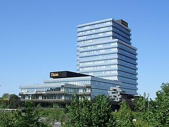 English: Debeka insurance company in Koblenz D...