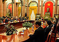 Defense.gov News Photo 101012-F-6655M-025 - Secretary of Defense Robert M. Gates and other defense ministers meet with Vietnamese President Nguyen Minh Triet in the Presidential Palace during.jpg