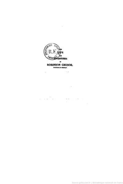 File:Defoe - Robinson Crusoé, Borel et Varenne, 1836, tome 2.djvu